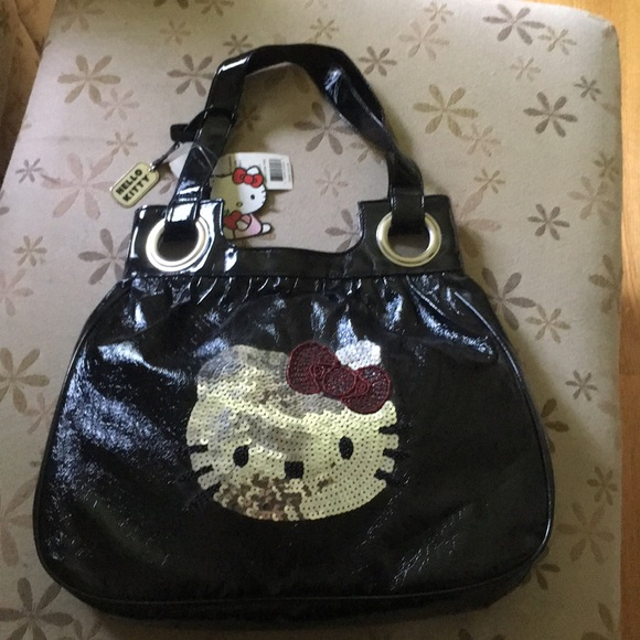 2839a23a5 Hello Kitty Bags | Totenwtshiny Blacksequin Graphic | Poshmark